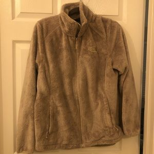 Cream/ Tan North Face Fleece